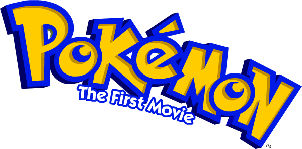 Pokemon The first movie Logo png #1437