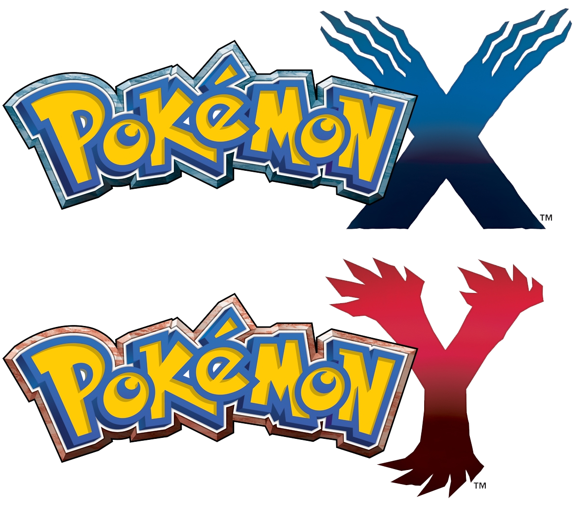 pokemon x, pokemon y logo #1443