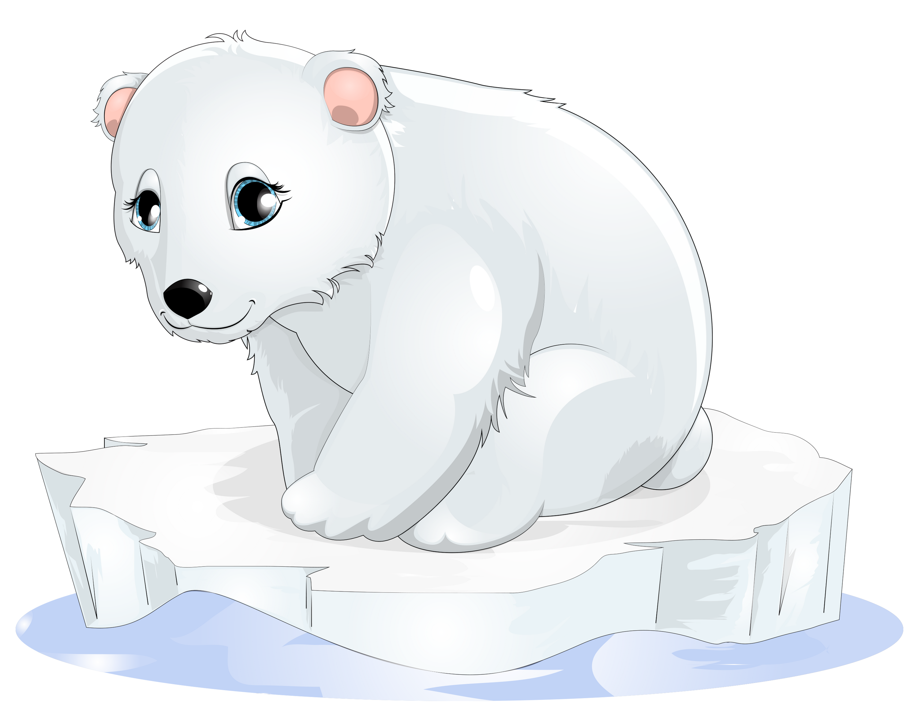 polar bear cartoon clip art polar bear transparent clipart png download #29834