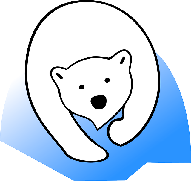 polar bear ice animal vector graphic pixabay #29865