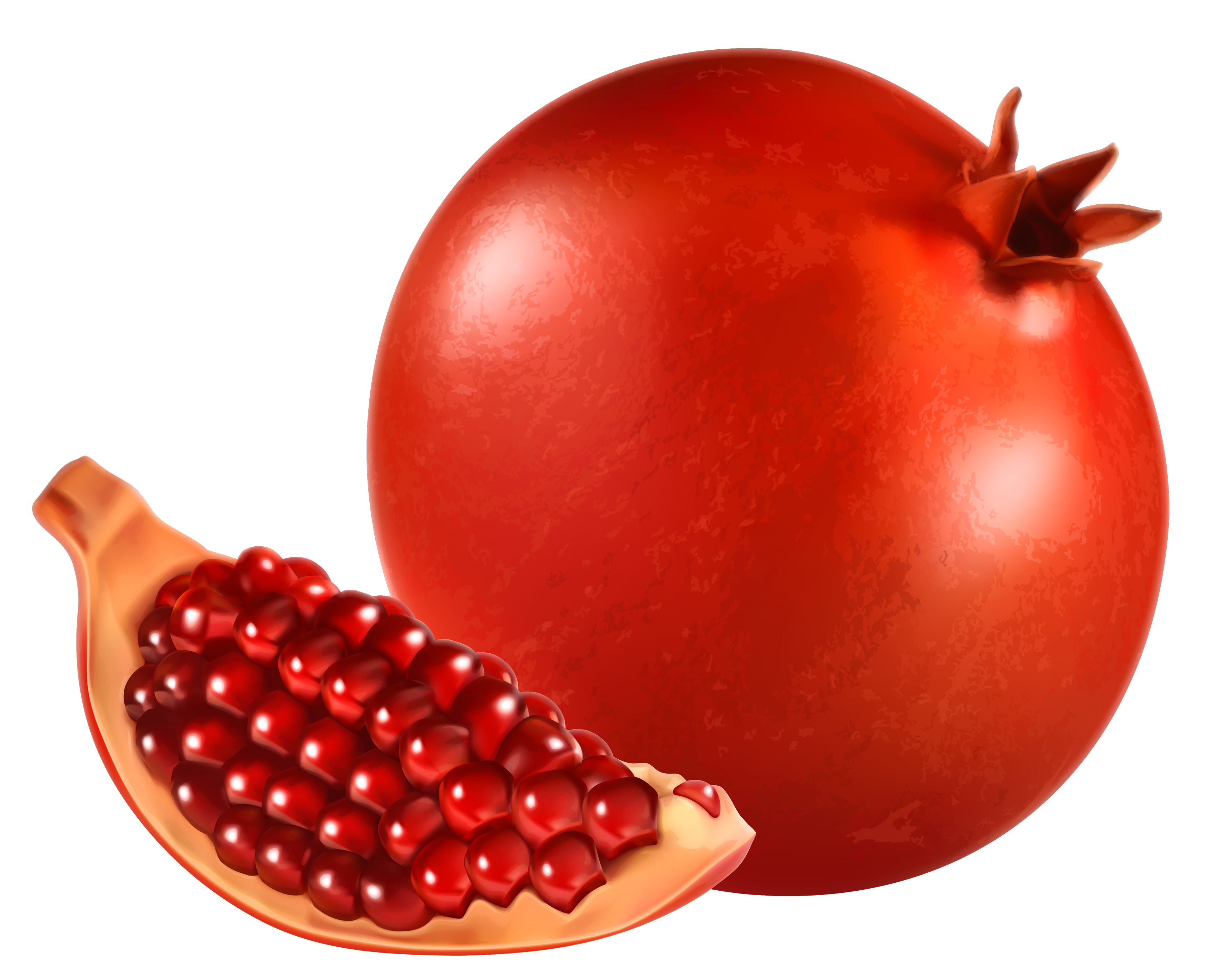 pomegranate open clipart cliparts download 24577