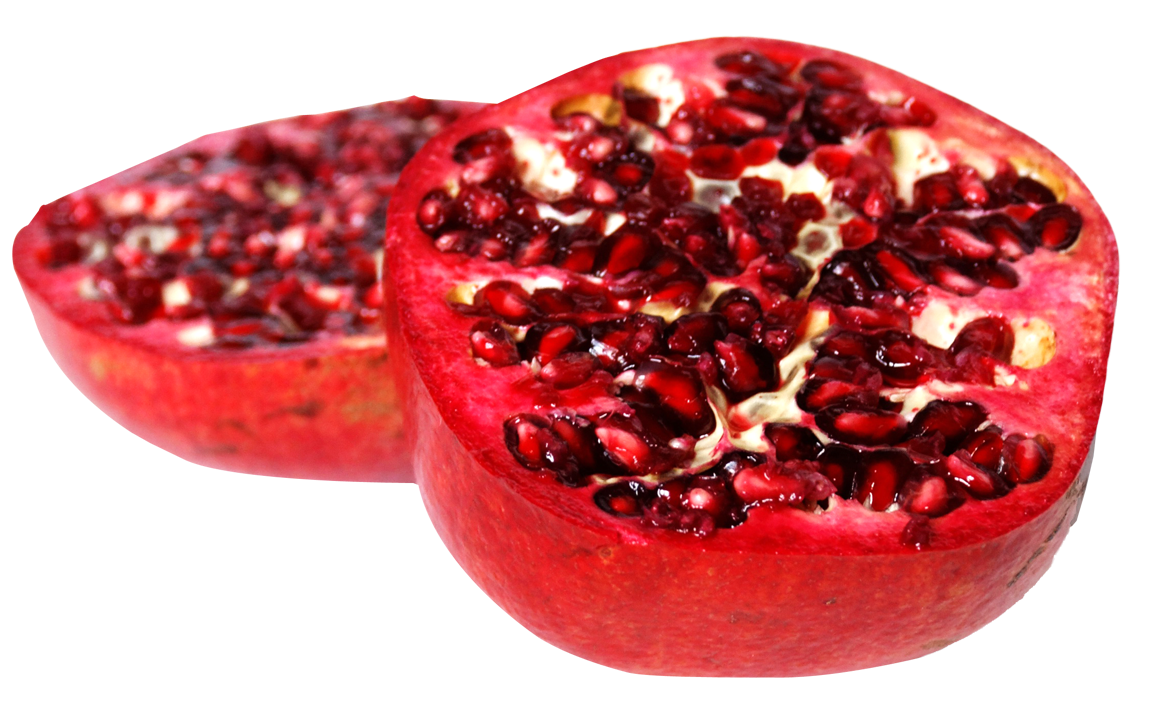 sliced pomegranate png image pngpix 24643