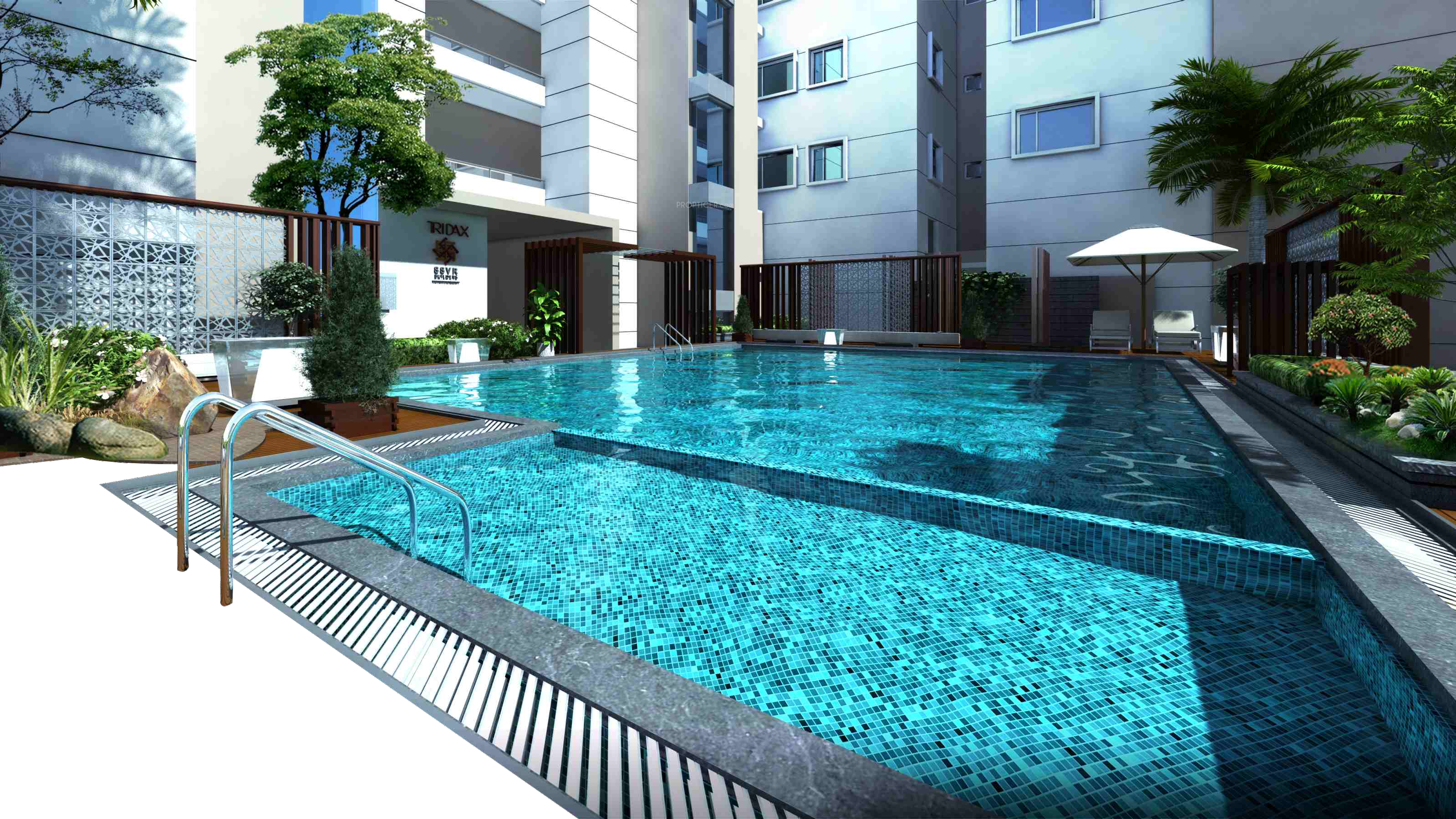 pool, bhk apartment for sale ssvr tridax #26698