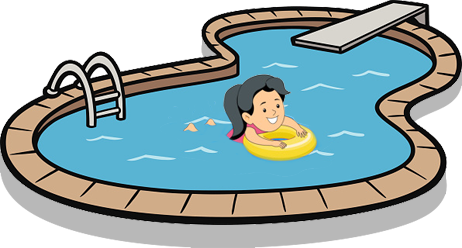 swimming pool cartoon images download best swimming #26679