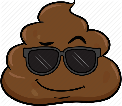 cartoon emoji face poo pooh poop icon #20272