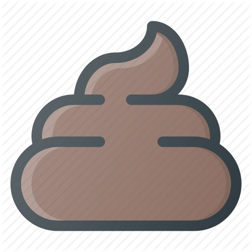 cream ice poo poop shit icon #20286