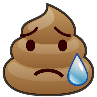 disappointed relieved poop emojidex custom emoji #20273