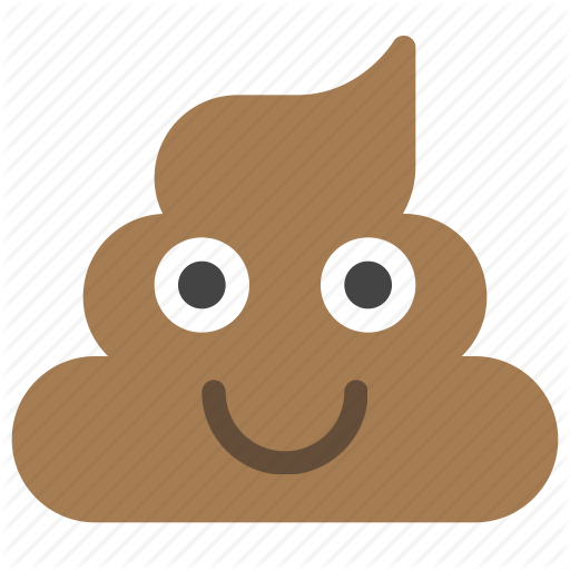 emoticons happy pet pile poo poop smiley icon #20276