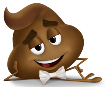 poop, the emoji movie characters tropes #20230