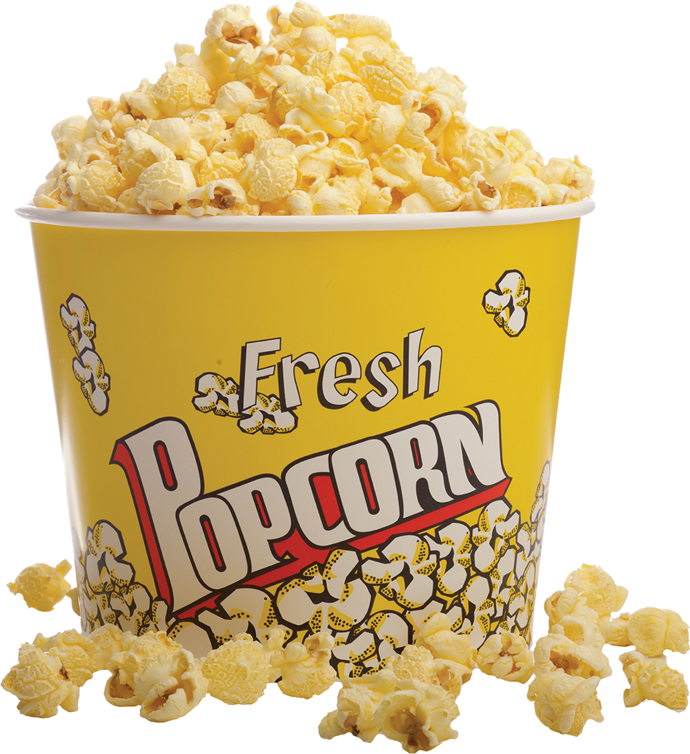 how design cinema style extra large popcorn bucket #16650