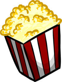 image popcorn club penguin wiki the #16707