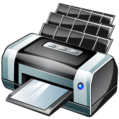 bubble jet printer icon #22055