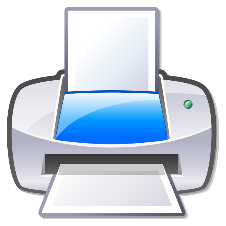 file gnome dev printer svg wikimedia commons #22104
