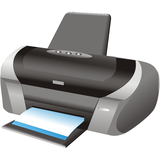 printer icon large business icons softiconsm #22092