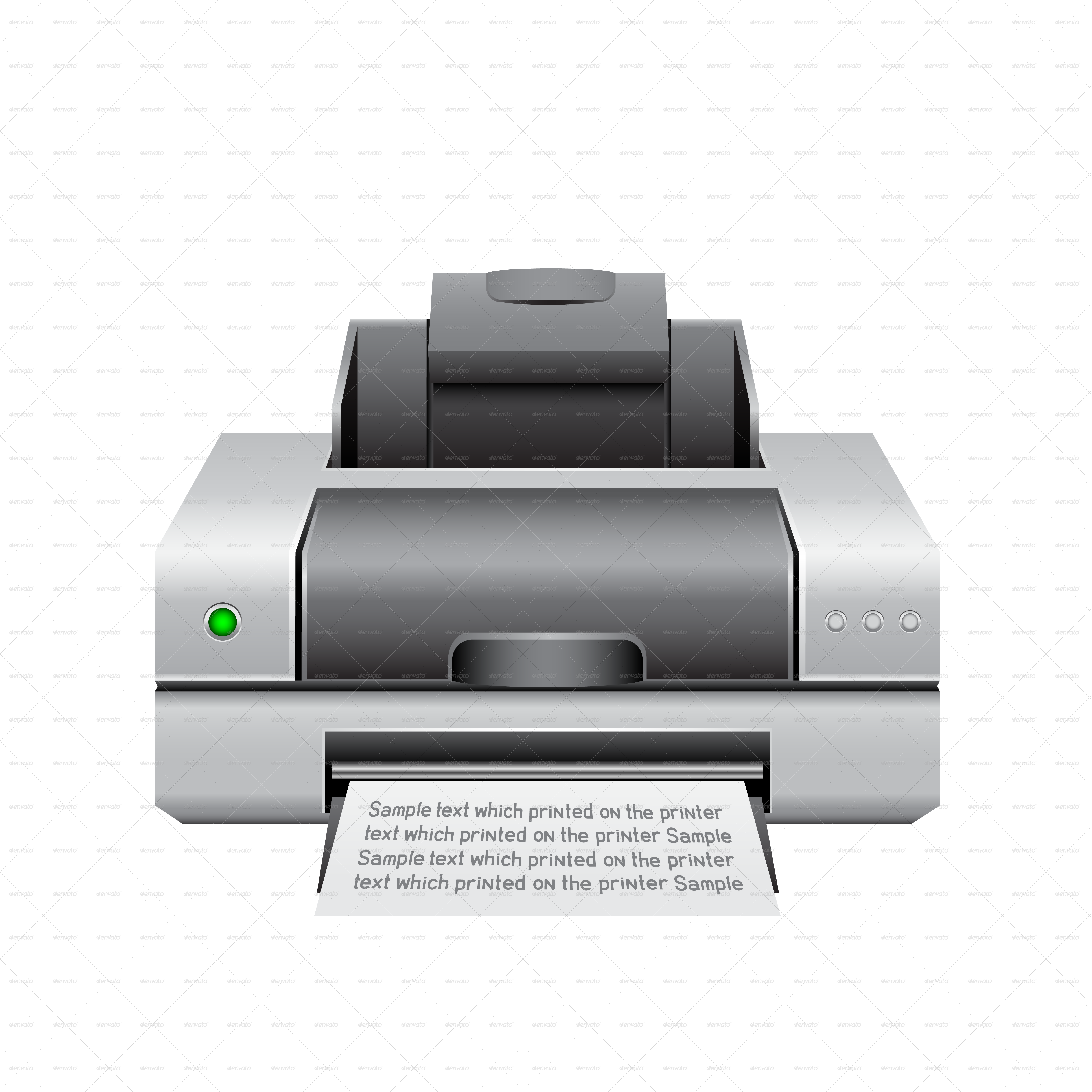 printer icon romvo graphicriver #22110