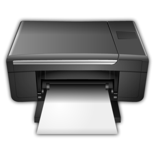printer icon yamilk icon set softiconsm #22040