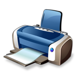 printer, print icon real vista text iconset iconshock #22145