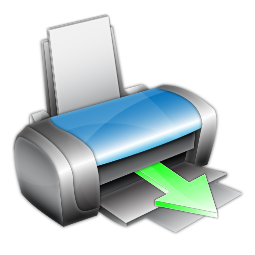 printer printing icon printer icon set softiconsm #22148