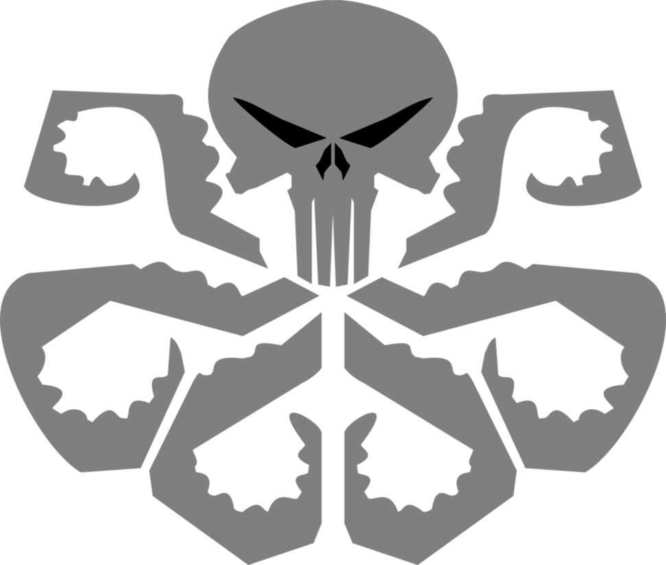 hydra punisher logo png #3608