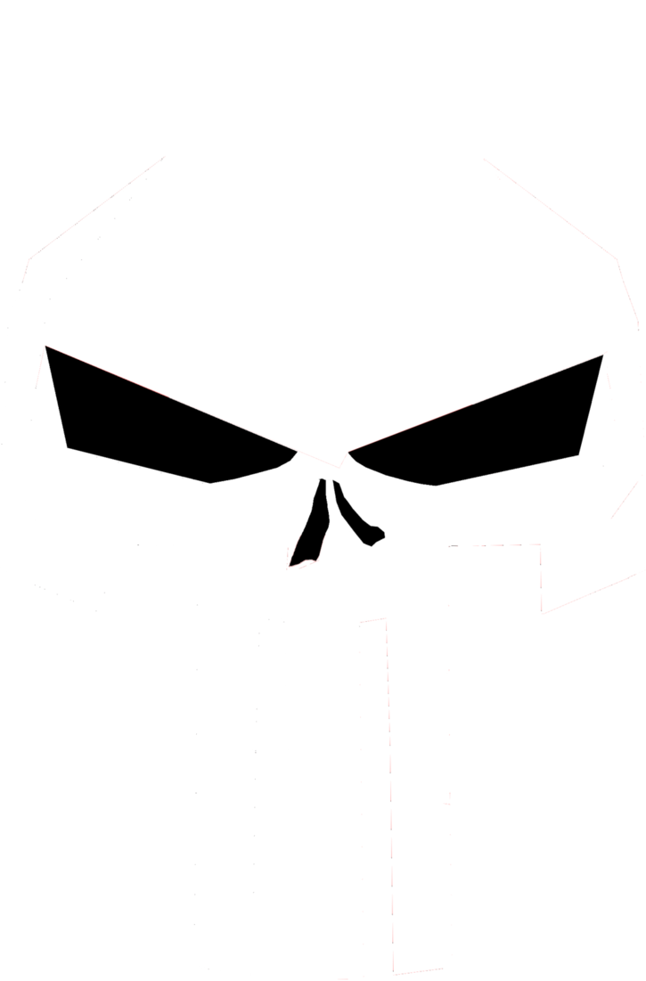 modern punisher skull png logo #3605