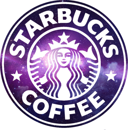 Purple Logo starbucks coffee png #1689