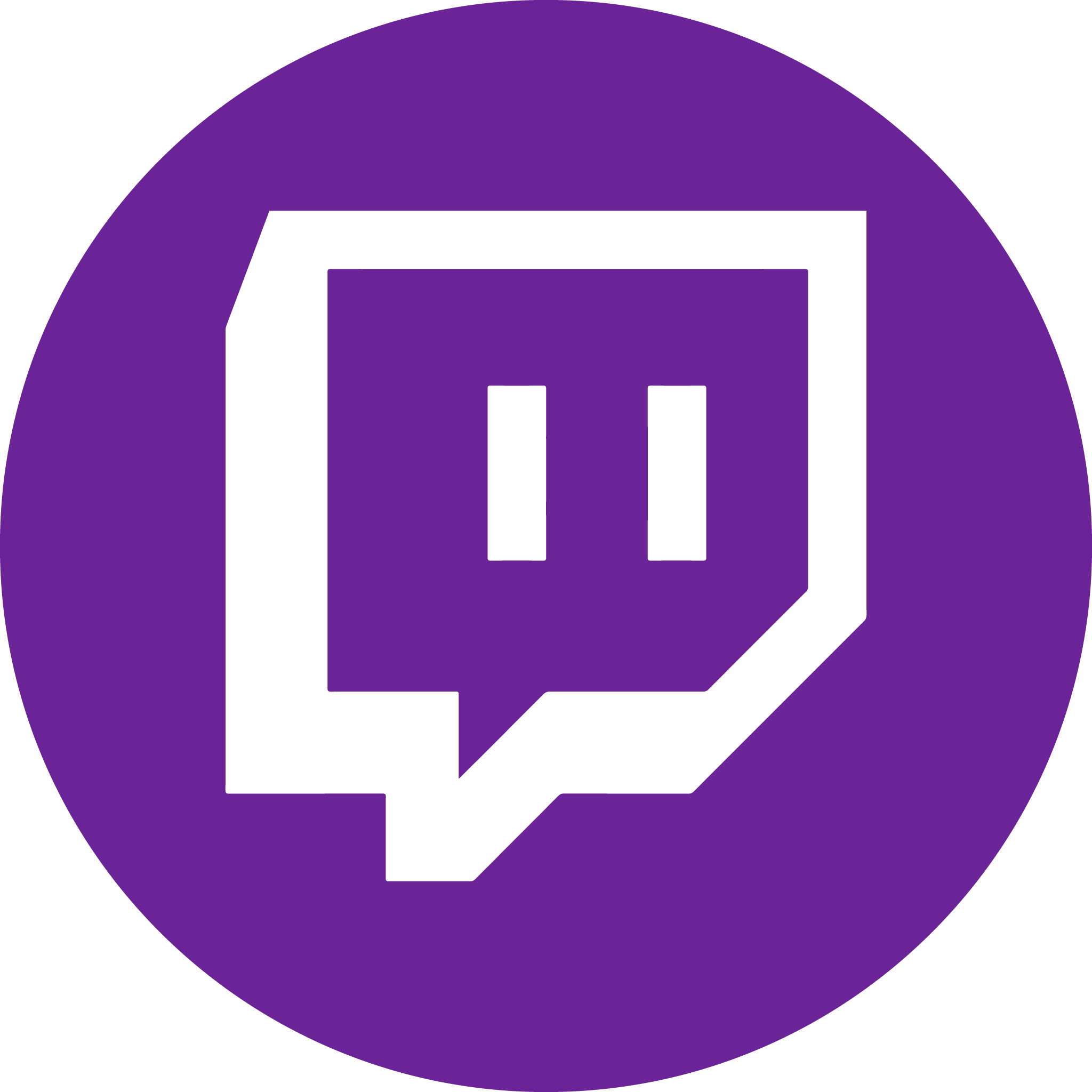 purple twitch logo png #1873