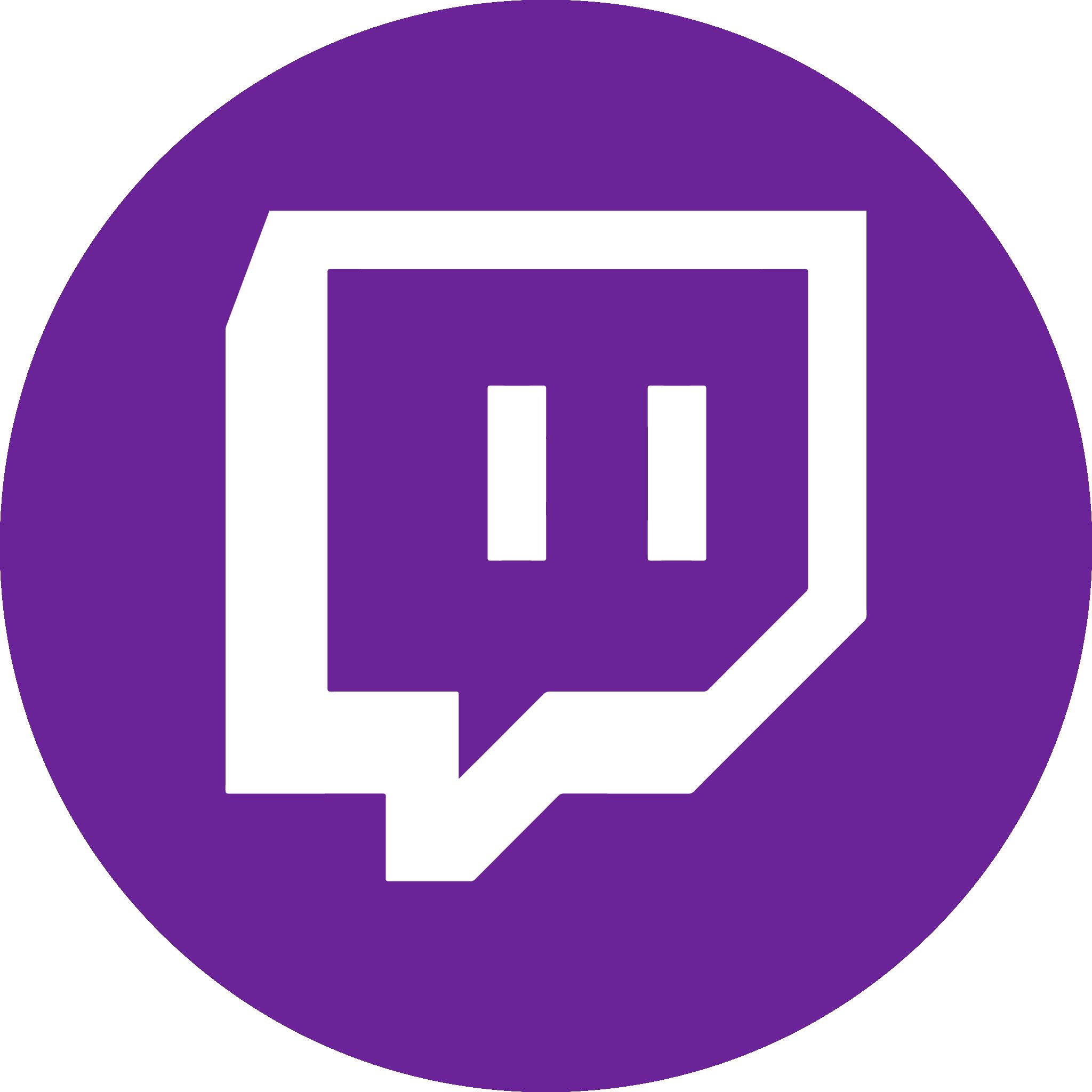 purple twitch logo png #1873