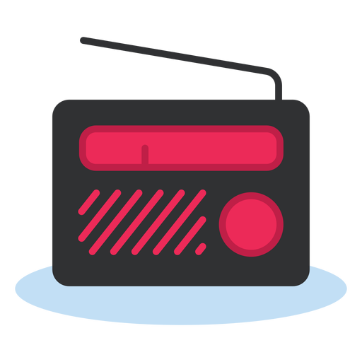 portable radio icon transparent png svg vector #21190