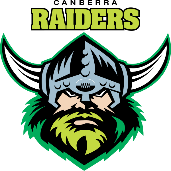 file canberra raiders logo #7848