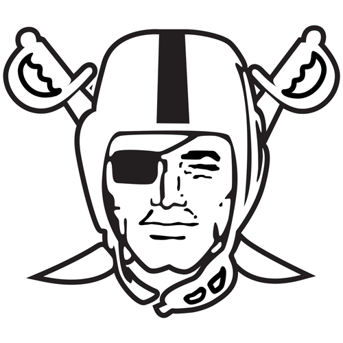 oakland raiders logo coloring pages sketch coloring page #7849