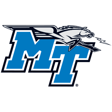 mt blue raiders logo