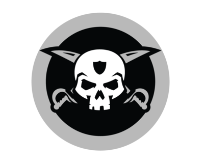 silver and black pride, raiders png logo #5034