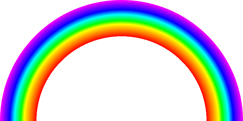 file svg rainbow half arc continous colors svg wikimedia #12566