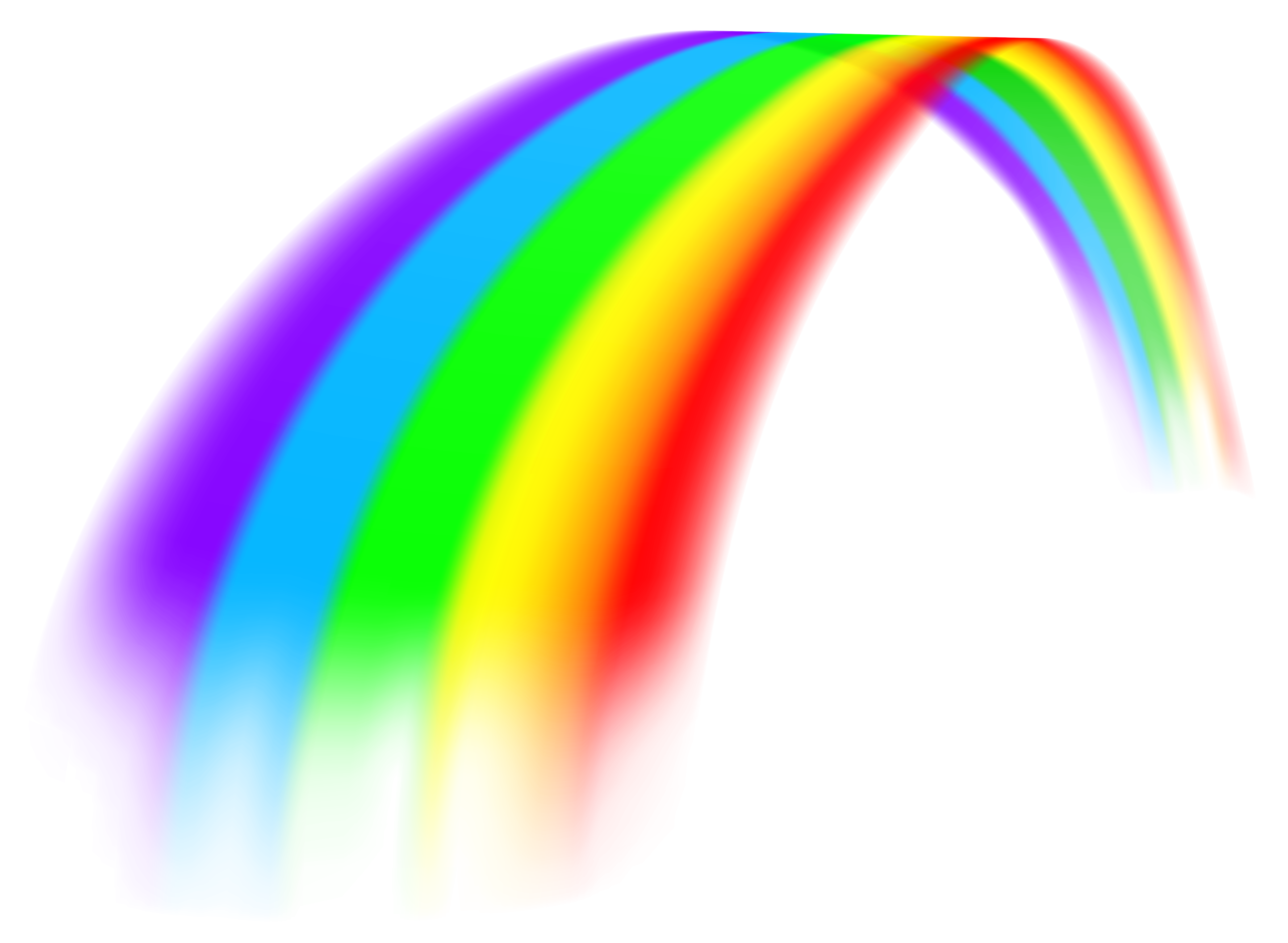 rainbow png image clipart best #12558