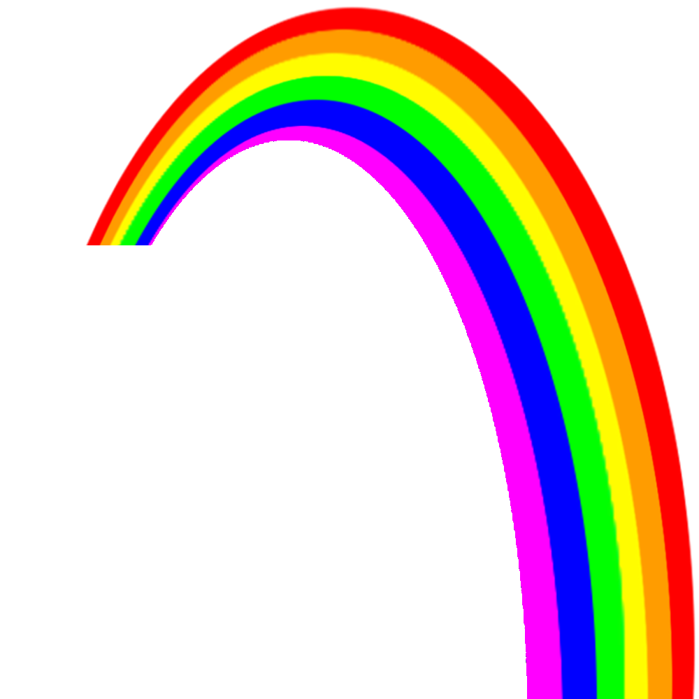 rainbow png images colors the sky png only #12419