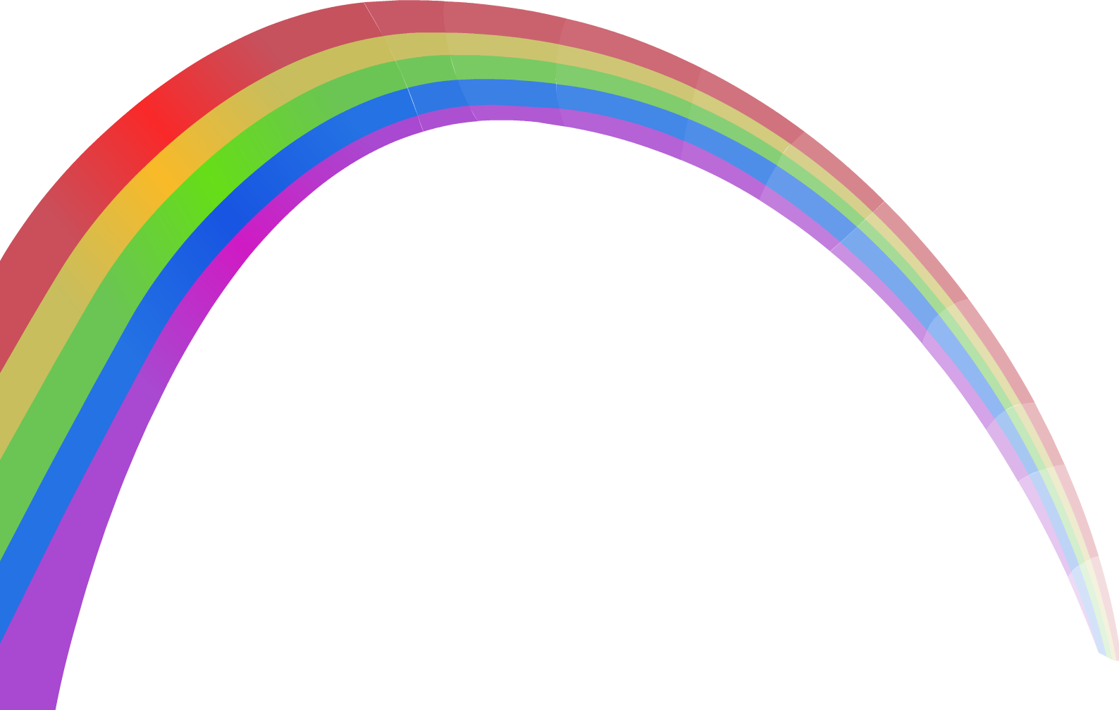 rainbow png images colors the sky png only #12395