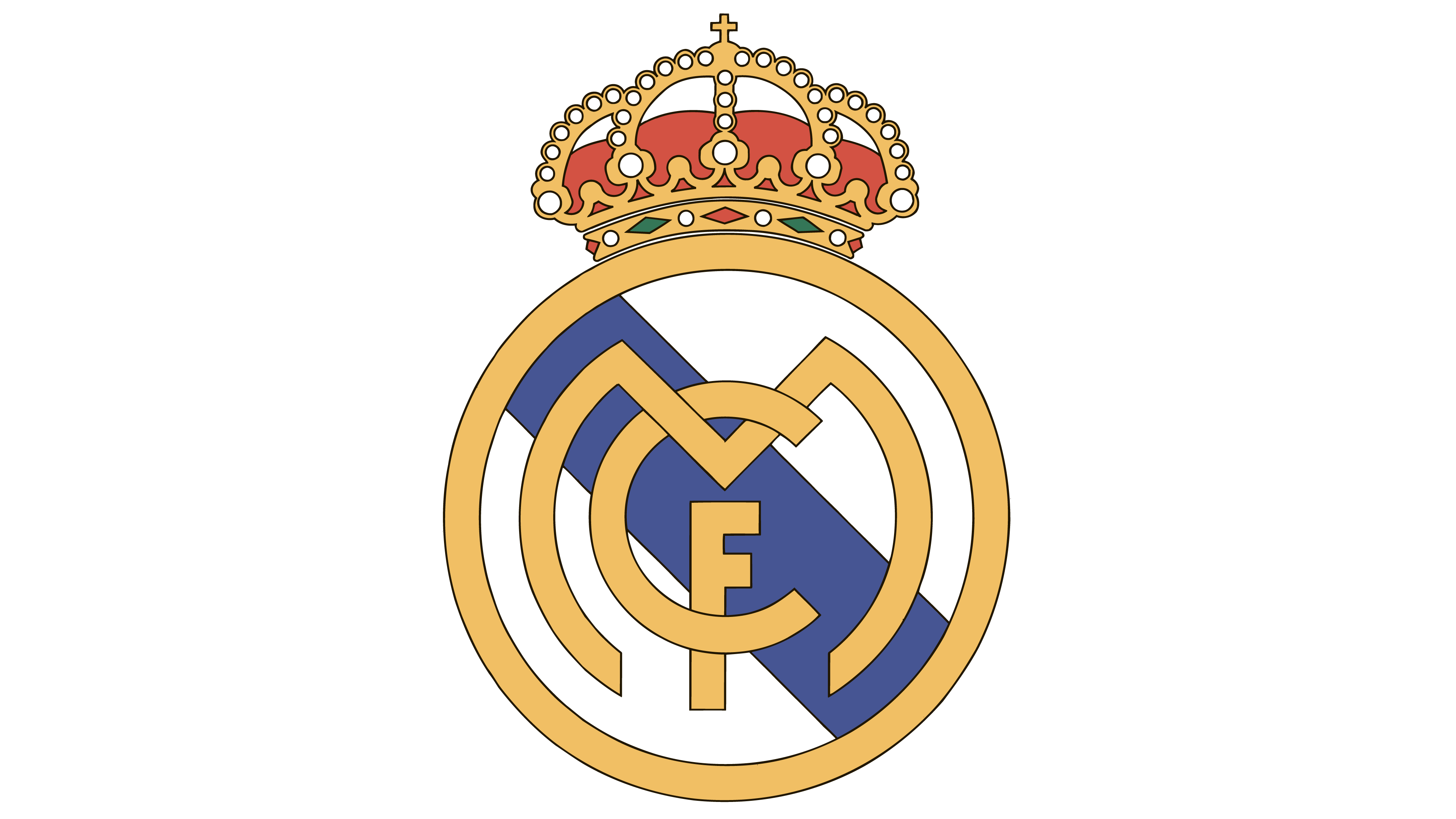 real madrid logo interesting history the team name and emblem #28349