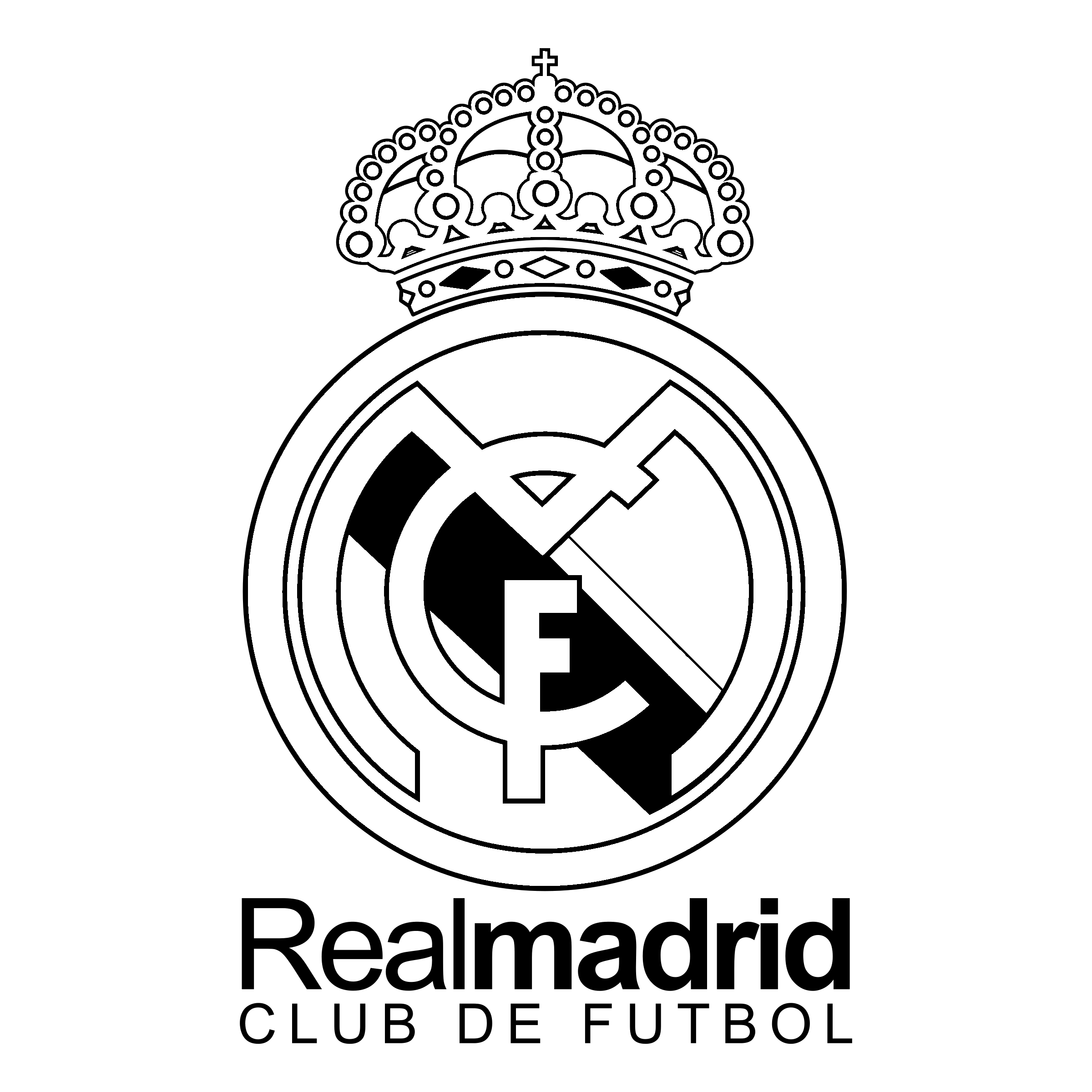 real madrid logo, real madrid centenario logo png transparent svg vector bie supply #28367