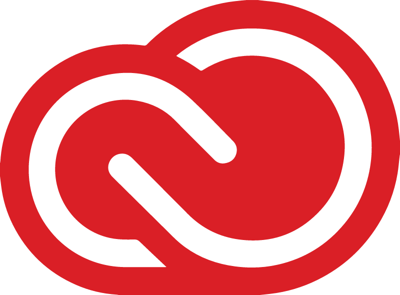 red adobe creative cloud logo 1903
