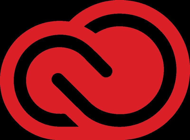 red adobe creative cloud logo #1903