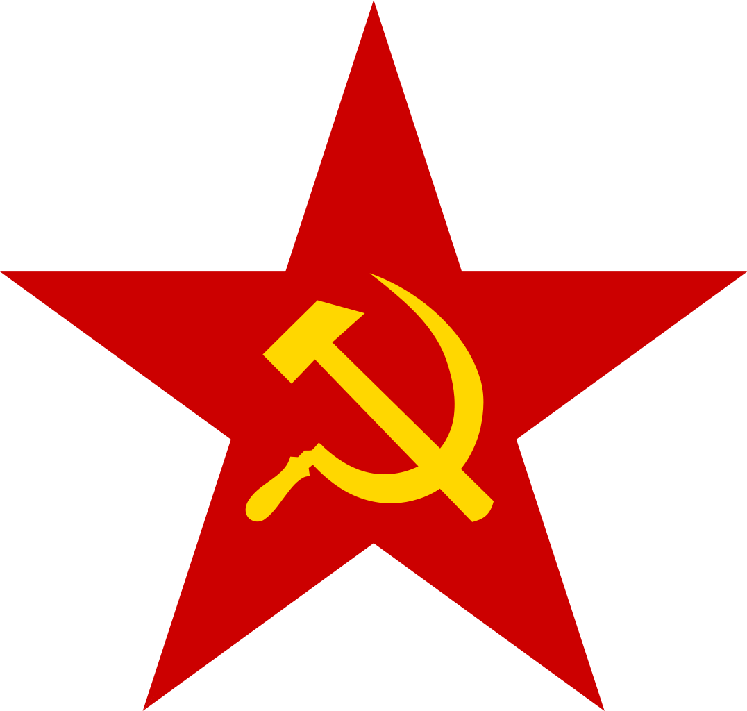 file red star with hammer and sickle svg wikimedia commons #19083