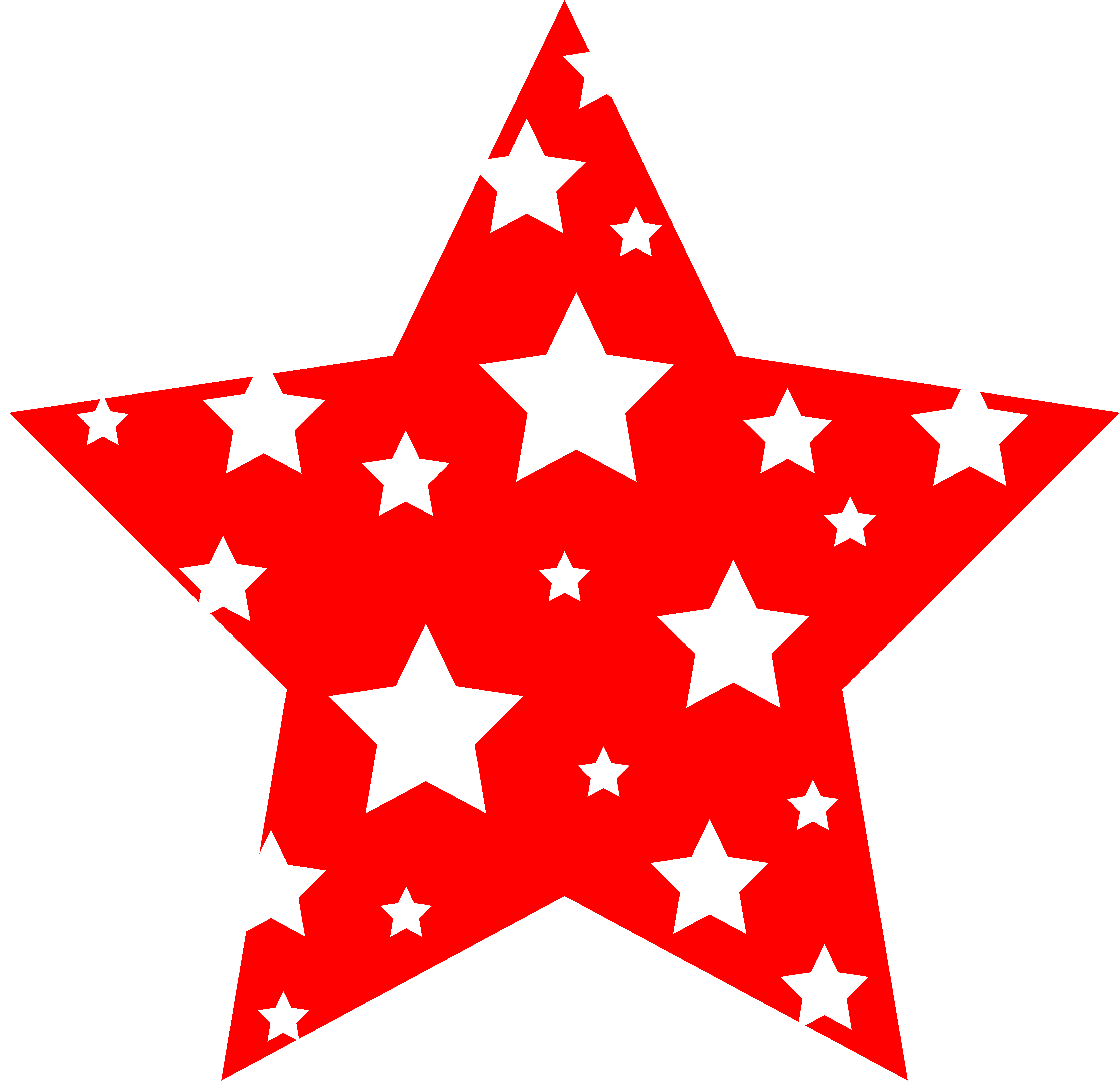 red star, clipart stars clipart panda clipart images #19076