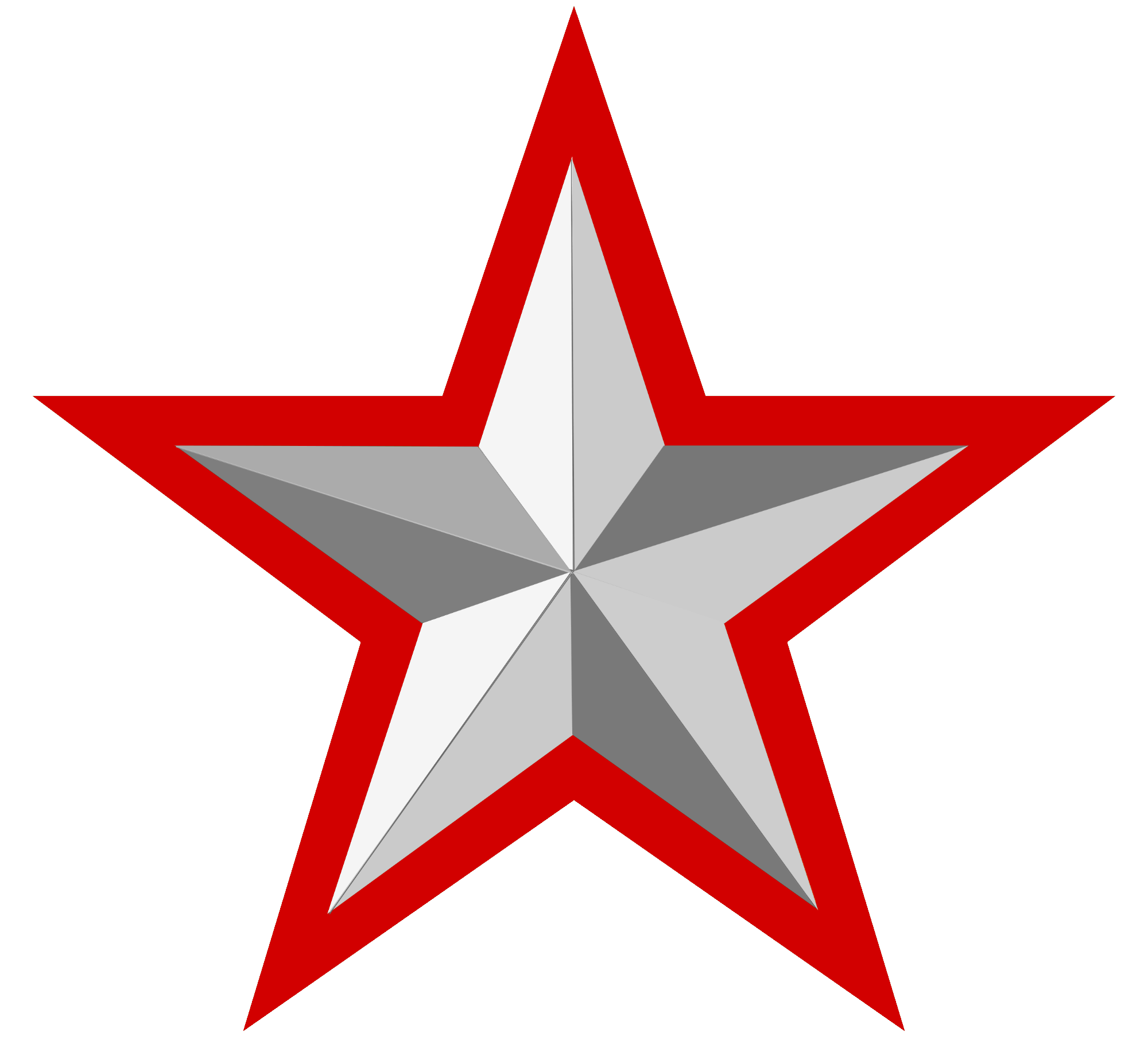 red star, file silver star with red border wikimedia commons #19081