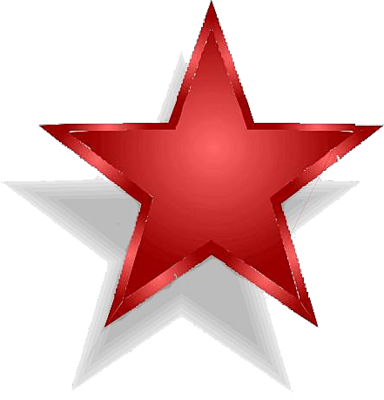 red star, psd detail red grunge star official psds #19090
