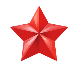 red star, star png red small alpha transparent image clip art #19103