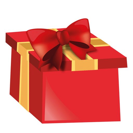 regalos red christmas giftbox transparent #39889