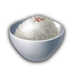 recipe rice icon recipes iconset lemon liu #22938