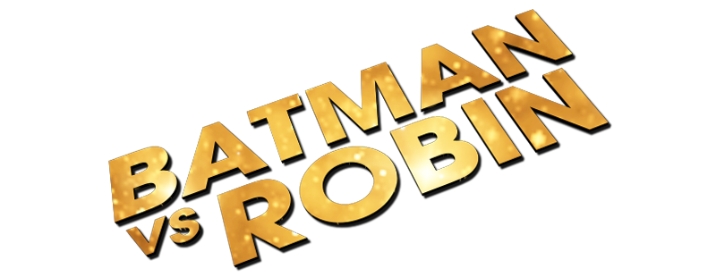 batman vs. robin movie png logo #4953