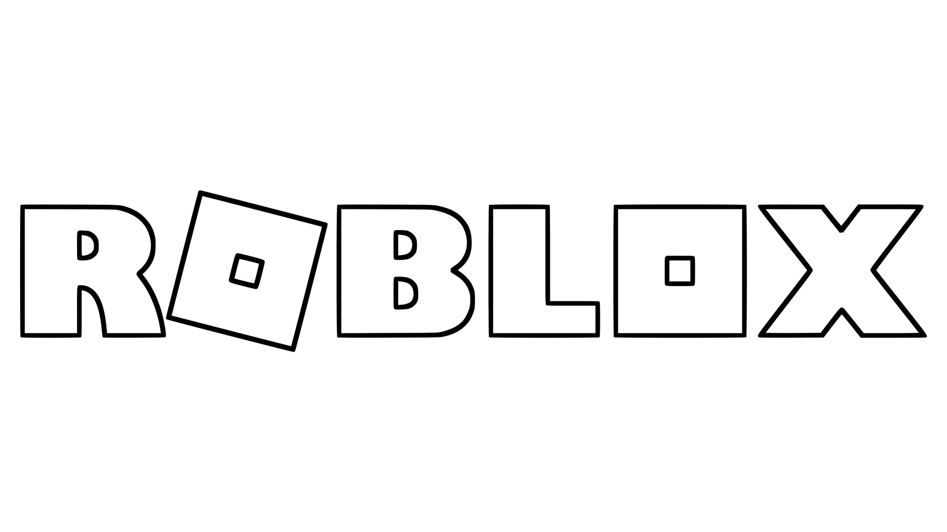 roblox logo, printable roblox coloring pages #27111