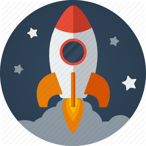 rocket, business clouds fast launch launching marketing #19671